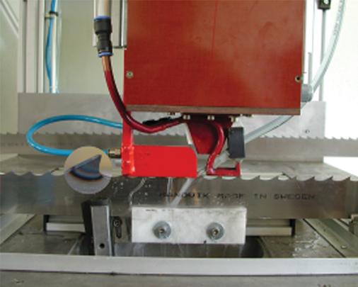 Машина за закалка зъбите на режещи ленти AproPower BH 25/100