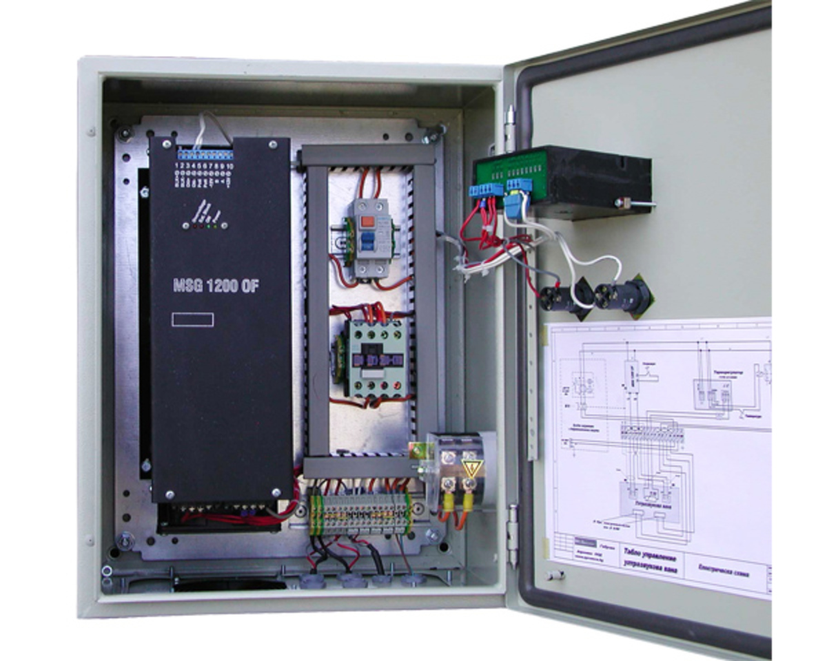 Power supply units for ultrasonic cleaners