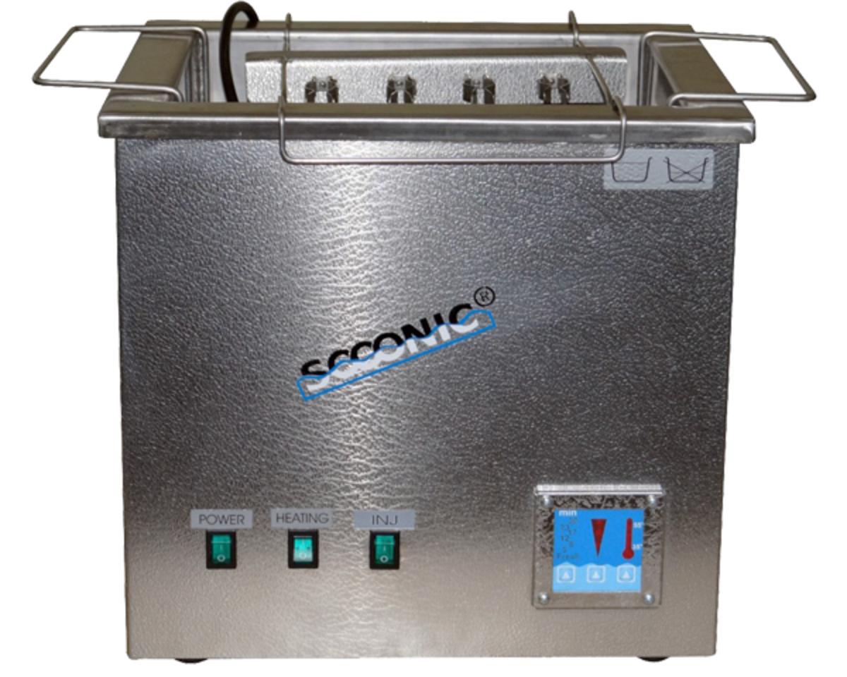 Ултразвукови вани за почистване на инжектори и карбуратори