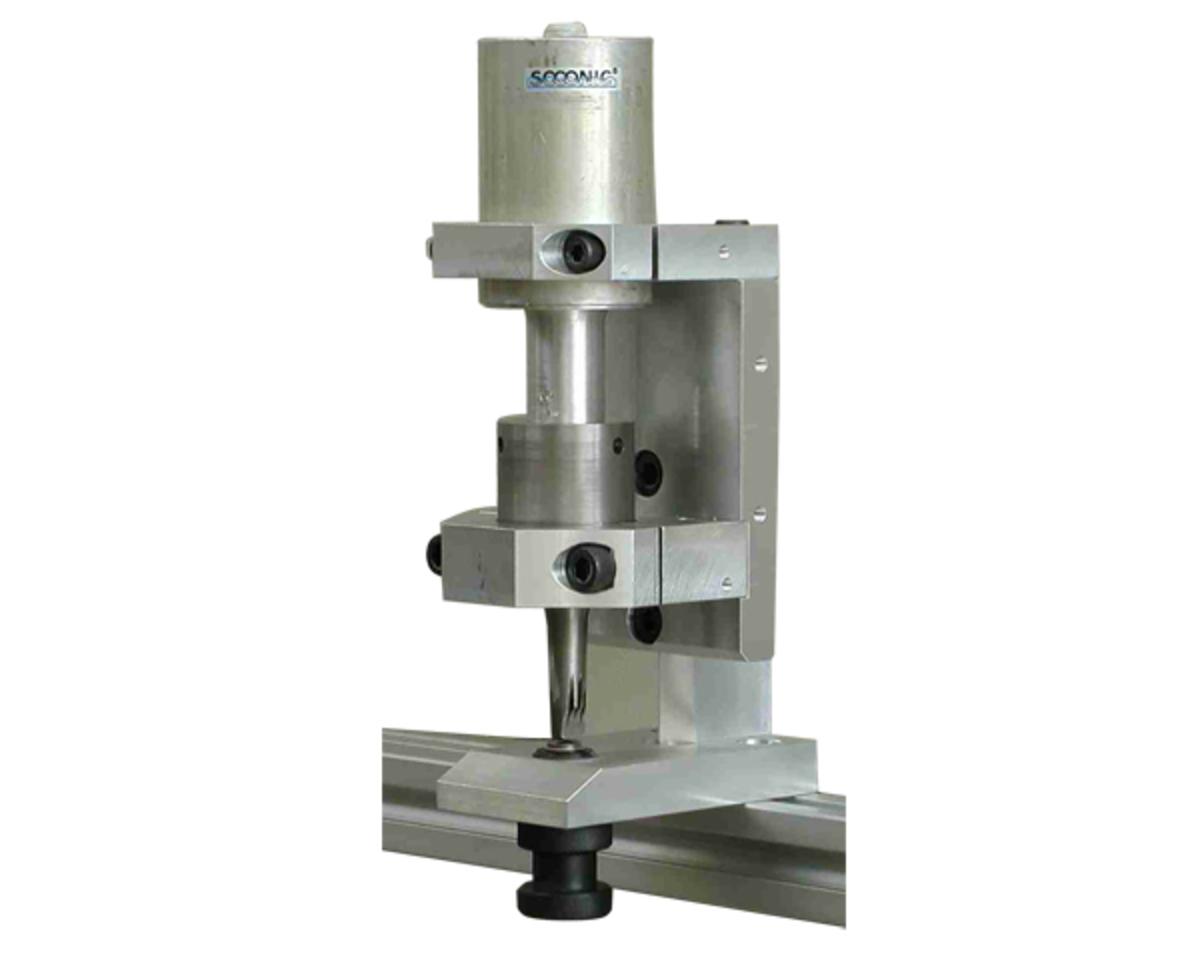 Module for ultrasonic slitting