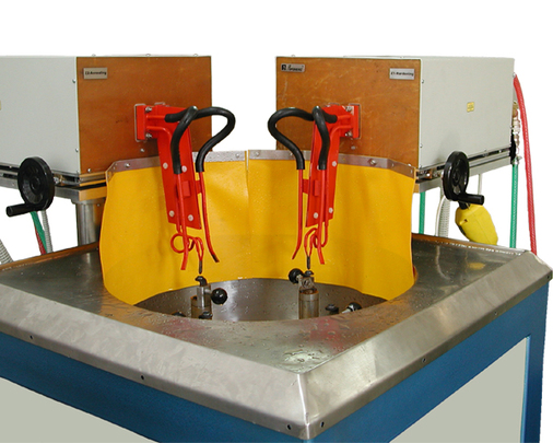 Machine for surface hardening of gear-box details AproPower 200H