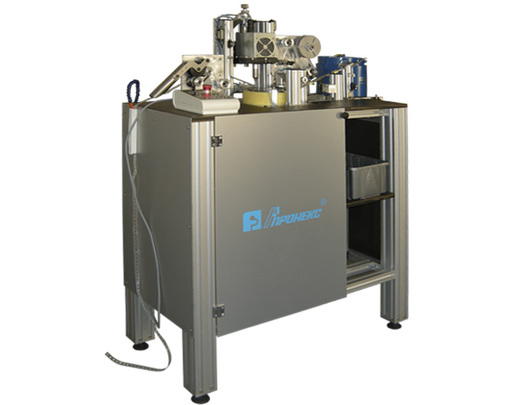 Machine for production of foaming element for pumps