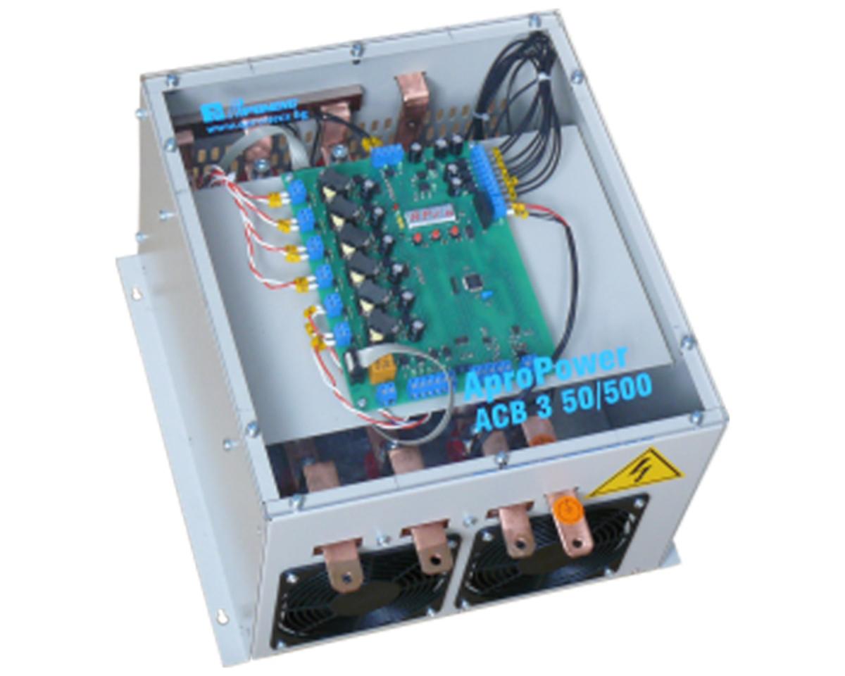 Трифазен тиристорен прекъсвач 50kVA AproPower ACB3 50/500