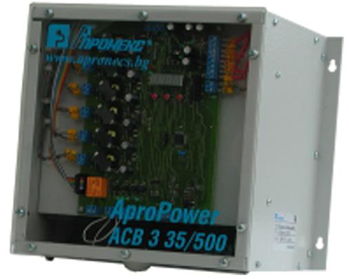 Трифазен тиристорен прекъсвач 35kVA AproPower ACB3 35/500