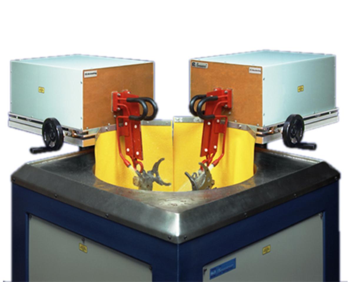 Машина за повърхностно закаляване на детайли за скоростна кутия AproPower 200H
