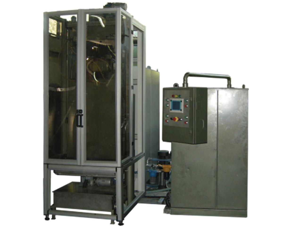 Машина за вертикално закаляване на бутални пръти AproPower VH 100/100