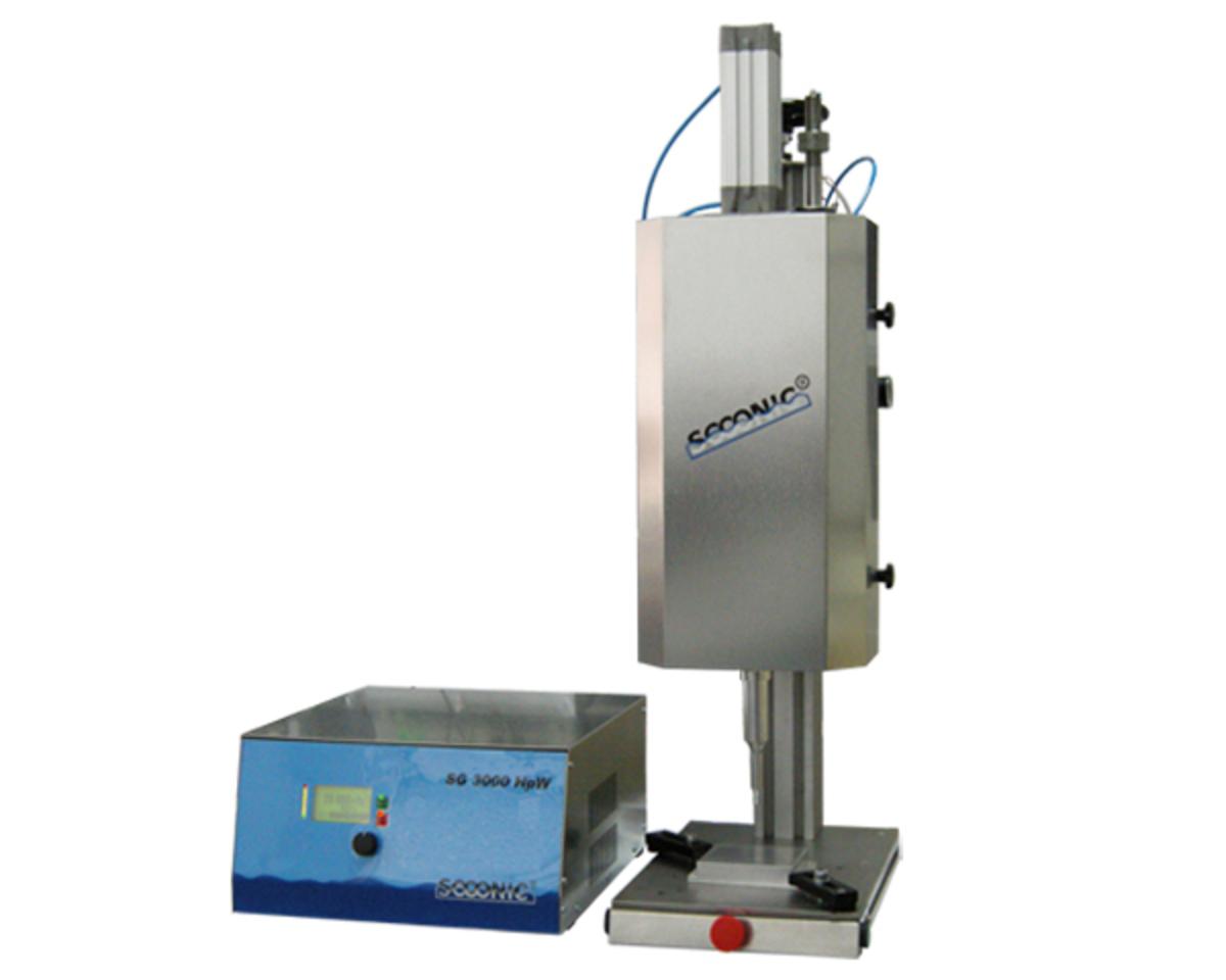 Ultrasonic welding press USP 100 PW